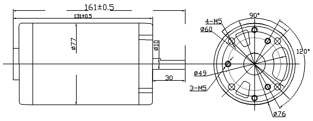 77A 外形图纸